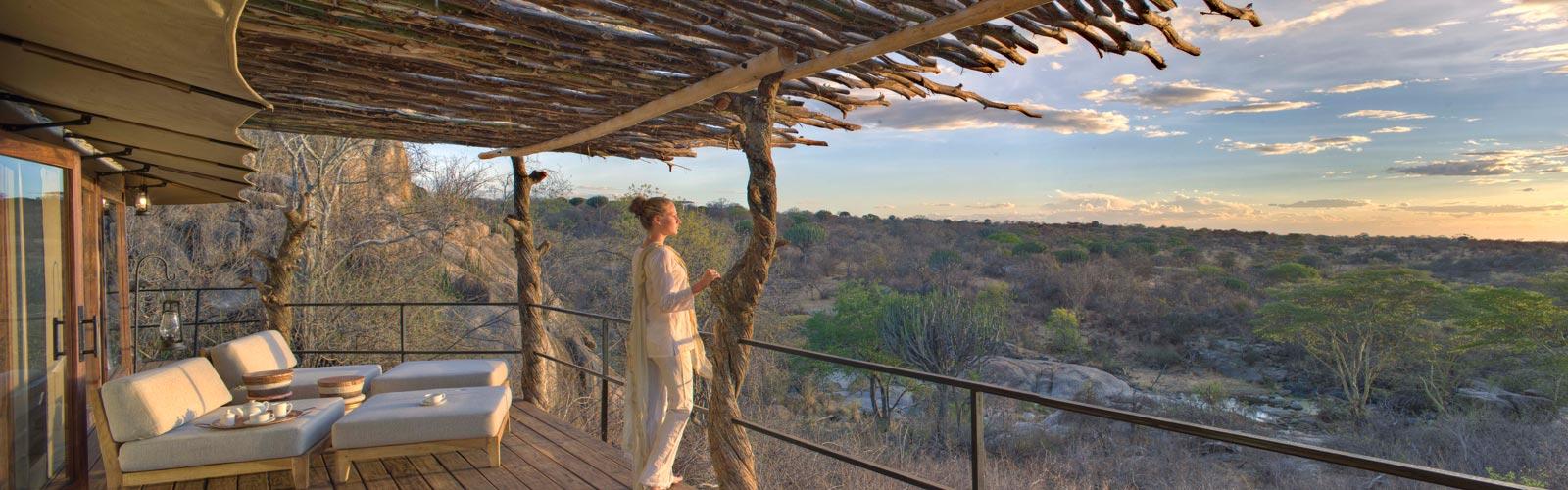Safari tanzani luxe